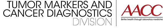 text graphic for tumor markers and cancer diagnostics division