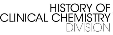 History of Clinical Chemistry Division