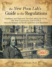 The New Poor Lab's Guide to the Regulations