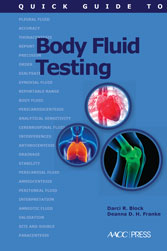 Quick Guide to Body Fluid Testing