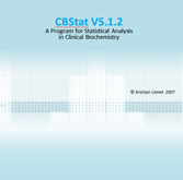 CBstat: A Program for Statistical Analysis in Clinical Biochemistry - CD