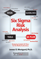 Six Sigma Risk Analysis: Designing Analytic QC Plans for the Medical Laboratory