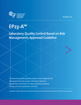 Laboratory Quality Control Based on Risk Management