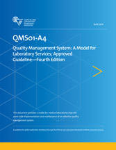 Quality Management System: A Model for Laboratory Services;