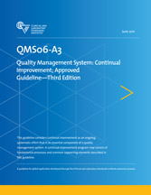 Quality Management System: Continual Improvement; Approved Guideline