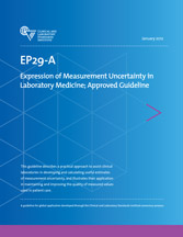 Expression of Measurement Uncertainty in Laboratory Medicine