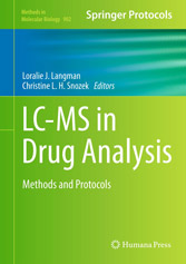 LC-MS in Drug Analysis methods and protocols