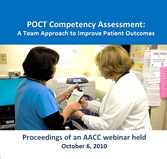 POCT Competency Assessment - A Team Approach