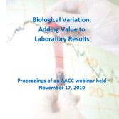 Biological Variation: Adding Value to Laboratory Results