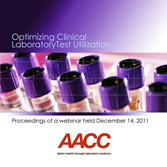 Optimizing Clinical Lab Test Utilization