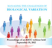 Managing the Challenges of Biological Variation - CD