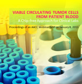 Viable Circulating Tumor Cells from Patient Blood