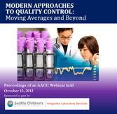 Modern Approaches to Quality Control: Moving Averages and Beyond - CD