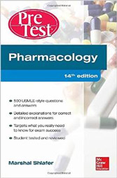 Pharmacology PreTest Self-Assessment and Review 14th Ed.