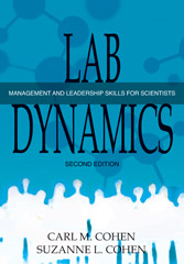 Lab Dynamicss Management and Leaderhsip Skills for Scientists