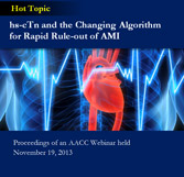hs-cTn and the Changing Algorithm for Rapid Rule-Out of AMI