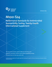 Performance Standards for Antimicrobial Susceptibility Testing; Twenty-Fourth Informational Supplement (M100-S24)