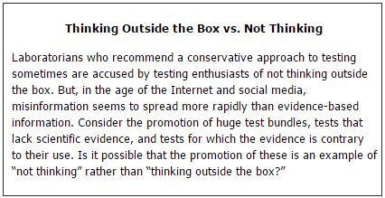 Thinking Outside the Box vs. Not Thinking