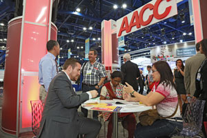 AACC booth