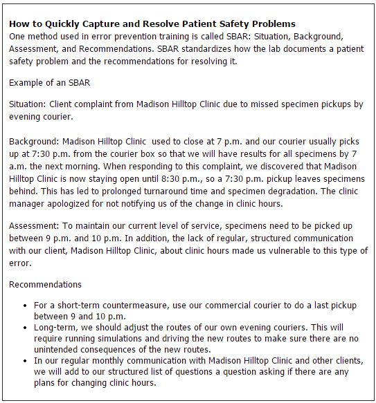 How to Quickly Capture and Resolve Patient Safety Problems
