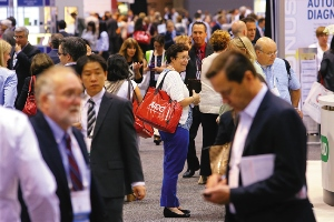 Crowd at AACC's 65th Annual Meeting & Clinical Lab Expo in Chicago