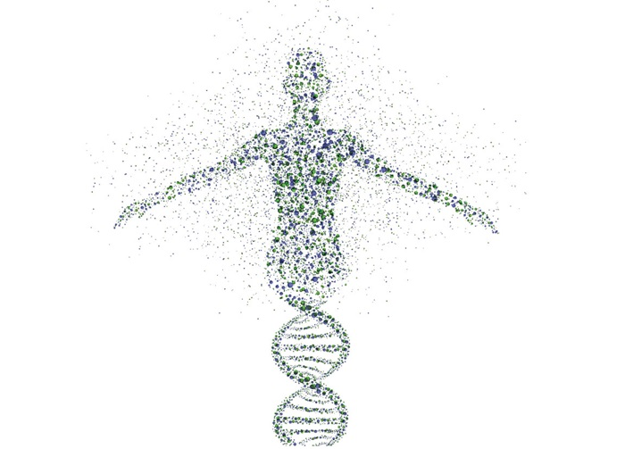 DNA man graphic