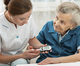 Diabetes control in the elderly