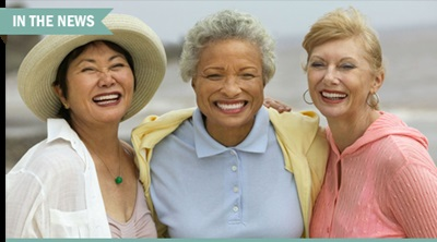 Multicultural older women.