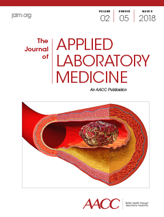 The Journal of Applied Laboratory Medicine, March 2018