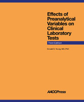 Effects of Preanalytical Variables on Clinical laboratory Tests