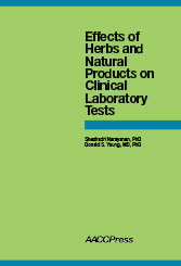 Effects of Herbs and Natural Products on Clinical Laboratory Tests